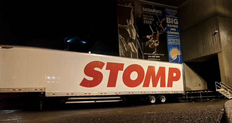Modern Day Couple goes to Stomp Broadway Sacramento