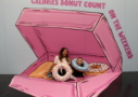 Ashley & Matix in the donut box