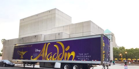 Modern Day Couple - Aladdin on Broadway Review